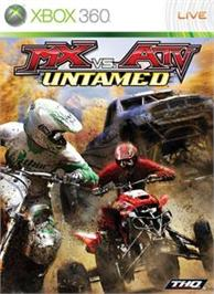 Box cover for MX vs. ATV: Untamed on the Microsoft Xbox 360.