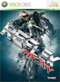 Box cover for MX vs ATV Reflex on the Microsoft Xbox 360.