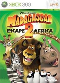 Box cover for Madagascar 2 on the Microsoft Xbox 360.