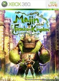 Box cover for Majin and the Forsaken Kingdom on the Microsoft Xbox 360.
