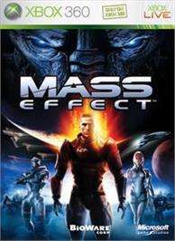 Box cover for Mass Effect on the Microsoft Xbox 360.