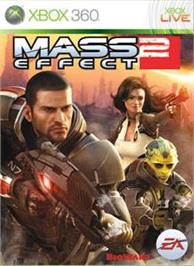 Box cover for Mass Effect 2 on the Microsoft Xbox 360.