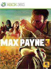 Box cover for Max Payne 3 on the Microsoft Xbox 360.