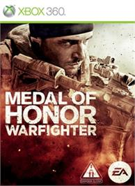Box cover for Medal of Honor Warfighter on the Microsoft Xbox 360.