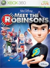 Box cover for Meet the Robinsons on the Microsoft Xbox 360.