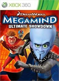 Box cover for MegaMind: Ultimate Showdown on the Microsoft Xbox 360.