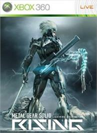 Box cover for Metal Gear Solid RISING on the Microsoft Xbox 360.