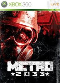 Box cover for Metro 2033 on the Microsoft Xbox 360.