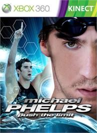 Box cover for Michael Phelps: Push the Limit on the Microsoft Xbox 360.