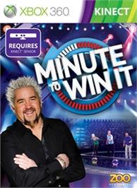 Box cover for Minute To Win It on the Microsoft Xbox 360.