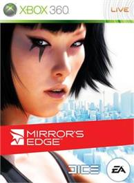 Box cover for Mirror's Edge on the Microsoft Xbox 360.