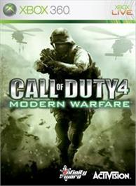 Box cover for Modern Warfare® on the Microsoft Xbox 360.