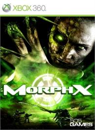 Box cover for MorphX on the Microsoft Xbox 360.