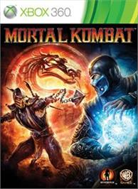 Box cover for Mortal Kombat on the Microsoft Xbox 360.