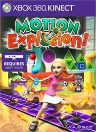 Box cover for Motion Explosion on the Microsoft Xbox 360.