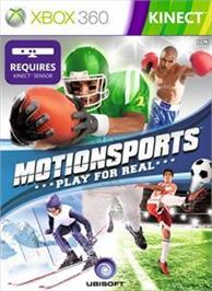 Box cover for Motionsports on the Microsoft Xbox 360.