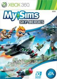 Box cover for MySims SkyHeroes on the Microsoft Xbox 360.