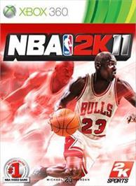 Box cover for NBA 2K11 on the Microsoft Xbox 360.