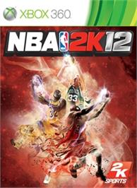 Box cover for NBA 2K12 on the Microsoft Xbox 360.