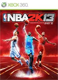 Box cover for NBA 2K13 on the Microsoft Xbox 360.