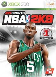 Box cover for NBA 2K9 on the Microsoft Xbox 360.