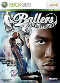 Box cover for NBA Ballers:Chosen One on the Microsoft Xbox 360.