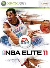 Box cover for NBA ELITE 11 on the Microsoft Xbox 360.