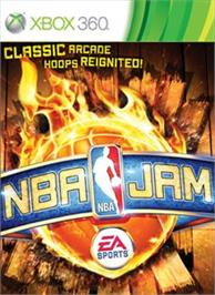 Box cover for NBA JAM on the Microsoft Xbox 360.