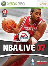 Box cover for NBA LIVE 07 on the Microsoft Xbox 360.