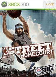 Box cover for NBA STREET Homecourt on the Microsoft Xbox 360.