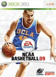 Box cover for NCAA® Basketball 09 on the Microsoft Xbox 360.
