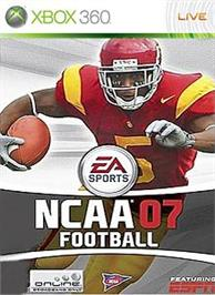 Box cover for NCAA® Football 07 on the Microsoft Xbox 360.
