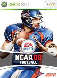 Box cover for NCAA® Football 08 on the Microsoft Xbox 360.