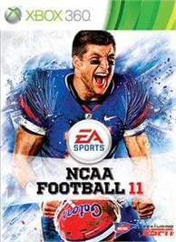 Box cover for NCAA® Football 11 on the Microsoft Xbox 360.