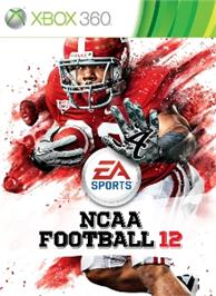 Box cover for NCAA® Football 12 on the Microsoft Xbox 360.