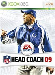 Box cover for NFL Head Coach 09 on the Microsoft Xbox 360.