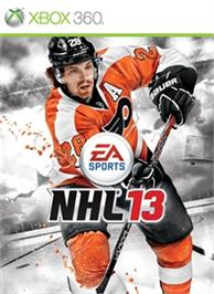 Box cover for NHL®13 on the Microsoft Xbox 360.