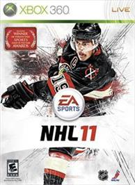 Box cover for NHL® 11 on the Microsoft Xbox 360.