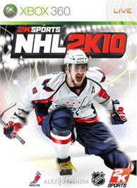 Box cover for NHL 2K10 on the Microsoft Xbox 360.