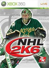 Box cover for NHL 2K6 on the Microsoft Xbox 360.