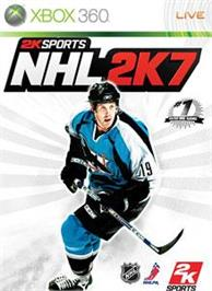 Box cover for NHL 2K7 on the Microsoft Xbox 360.