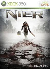 Box cover for NIER on the Microsoft Xbox 360.
