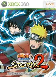 Box cover for NINJA STORM 2 on the Microsoft Xbox 360.