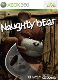 Box cover for Naughty Bear on the Microsoft Xbox 360.