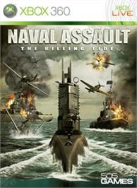 Box cover for Naval Assault on the Microsoft Xbox 360.