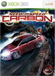 Box cover for Need for Speed Carbon on the Microsoft Xbox 360.