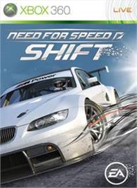 Box cover for Need for Speed SHIFT on the Microsoft Xbox 360.