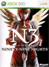 Box cover for Ninety-Nine Nights on the Microsoft Xbox 360.
