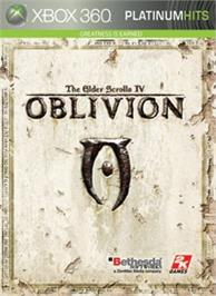 Box cover for Oblivion on the Microsoft Xbox 360.