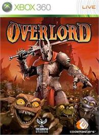 Box cover for Overlord on the Microsoft Xbox 360.